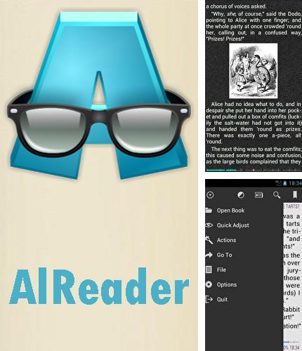 Besides eBoox: Book reader Android program you can download AlReader - Any text book reader for Android phone or tablet for free.