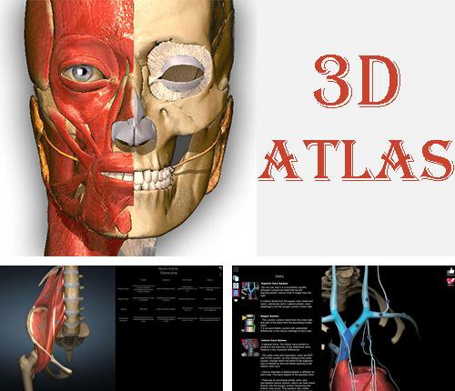 Outre le programme Dr.Web Security space pour Android vous pouvez gratuitement télécharger Anatomy learning - 3D atlas sur le portable ou la tablette Android.