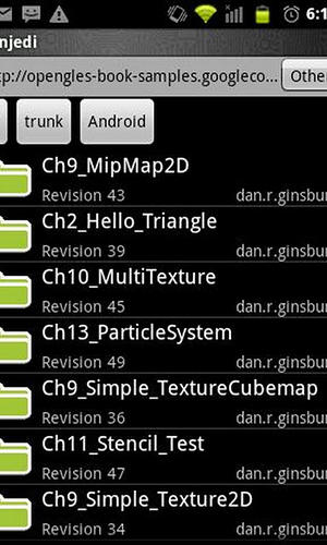 Capturas de tela do programa Android java editor em celular ou tablete Android.