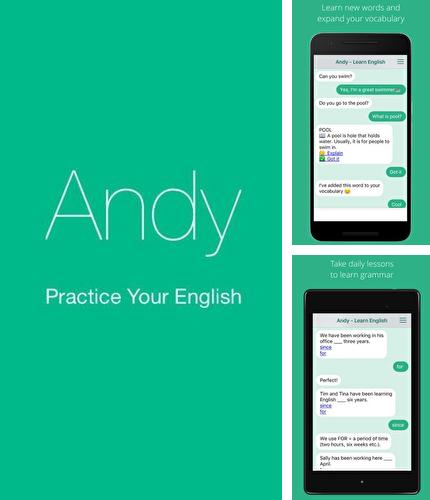 Descargar gratis Andy - English speaking bot para Android. Apps para teléfonos y tabletas.