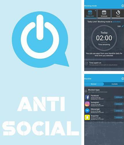 Descargar gratis AntiSocial: Phone addiction para Android. Apps para teléfonos y tabletas.