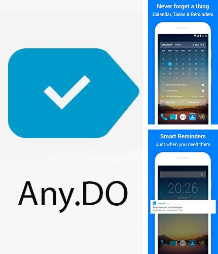 Download Any.do: To-do list, calendar, reminders & planner for Android phones and tablets.