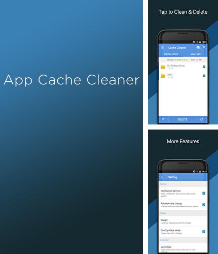 Besides Picturesque lock screen Android program you can download App Cache Cleaner for Android phone or tablet for free.