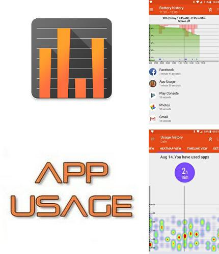Besides WiFi Mouse Android program you can download App usage - Manage/Track usage for Android phone or tablet for free.