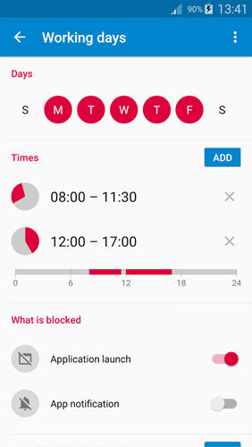 AppBlock: Stay Focused app for Android, download programs for phones and tablets for free.