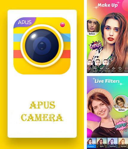 Besides PhotoDirector - Photo editor Android program you can download APUS camera - HD camera, editor, collage maker for Android phone or tablet for free.