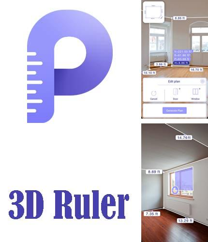 Besides Edo - Know what you eat Android program you can download AR plan 3D ruler – Camera to plan, floorplanner for Android phone or tablet for free.