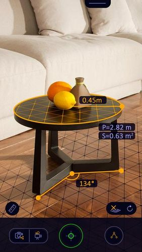 AR Ruler app – Tape measure & Camera to plan app for Android, download programs for phones and tablets for free.