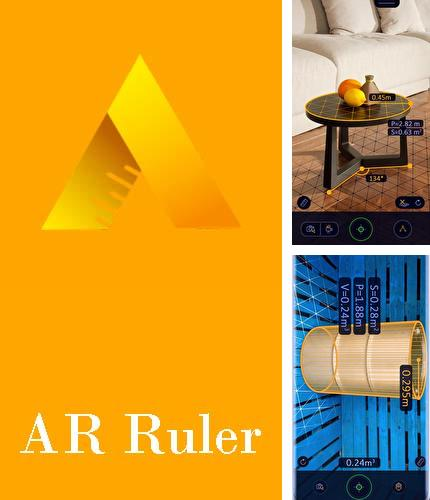 Besides Calls blacklist Android program you can download AR Ruler app – Tape measure & Camera to plan for Android phone or tablet for free.