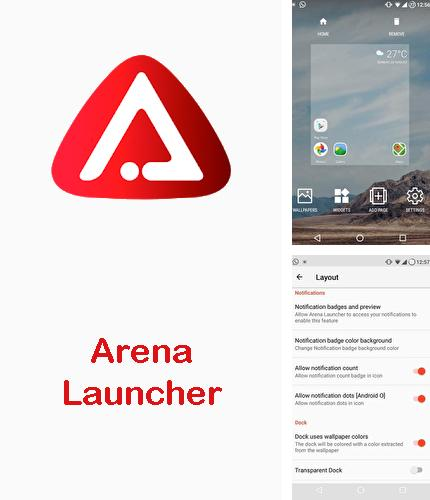 Besides Profile scheduler Android program you can download Arena launcher for Android phone or tablet for free.