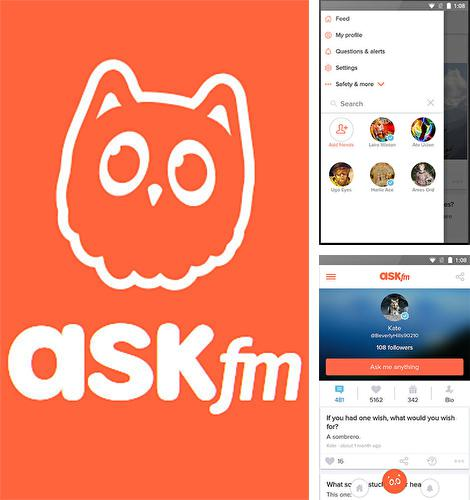 Download Ask.fm for Android phones and tablets.
