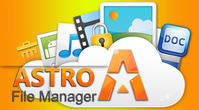 Download Astro: File manager for Android - best program for phone and tablet.