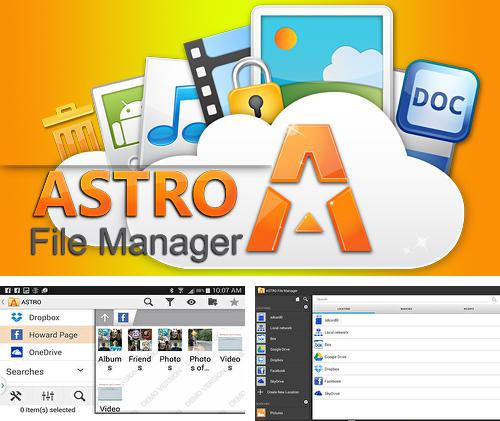 Además del programa CM Transfer - Share any files with friends nearby para Android, podrá descargar Astro: File manager para teléfono o tableta Android.