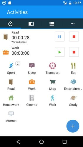 Download aTimeLogger - Time tracker for Android for free. Apps for phones and tablets.