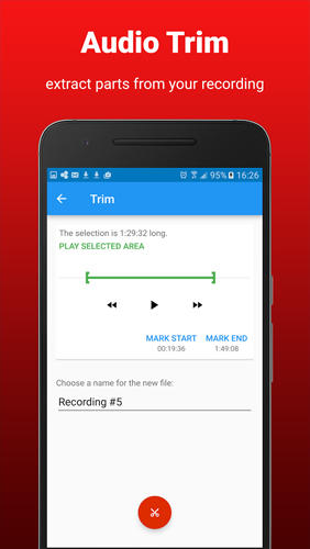 AudioRec: Voice Recorder