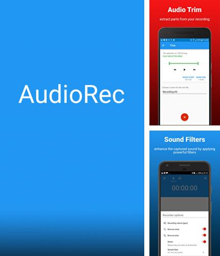 Download AudioRec: Voice Recorder for Android phones and tablets.