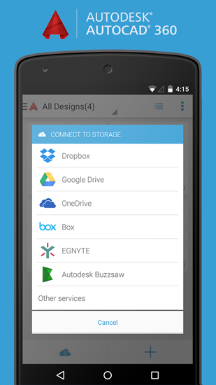 AutoCAD app for Android, download programs for phones and tablets for free.