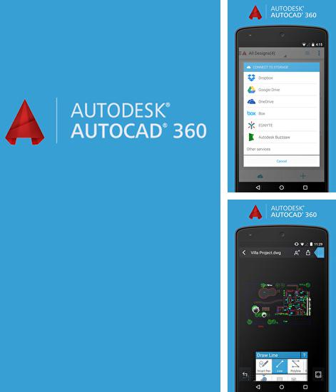 Besides APK installer Android program you can download AutoCAD for Android phone or tablet for free.