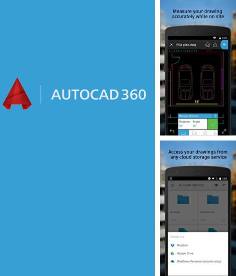 Besides Solid Explorer Android program you can download AutoCad 360 for Android phone or tablet for free.