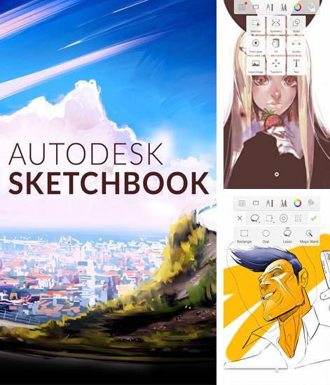 Besides Stargon browser Android program you can download Autodesk: SketchBook for Android phone or tablet for free.