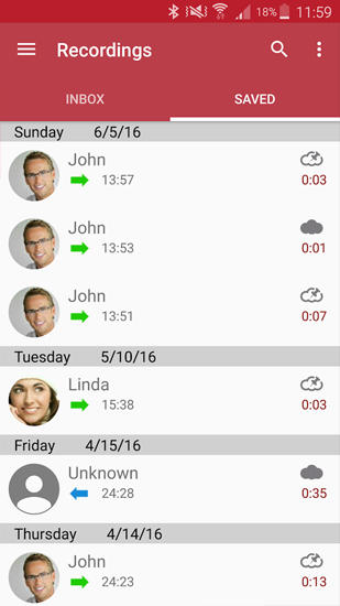 Automatic Call Recorder app for Android, download programs for phones and tablets for free.