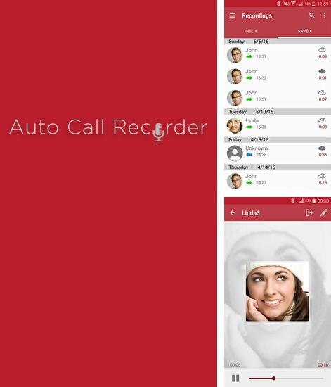 Besides Accu weather Android program you can download Automatic Call Recorder for Android phone or tablet for free.