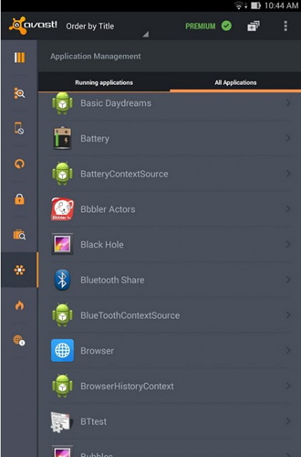 Avast: Mobile security app for Android, download programs for phones and tablets for free.