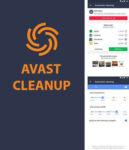 Download Avast Cleanup for Android phones and tablets.