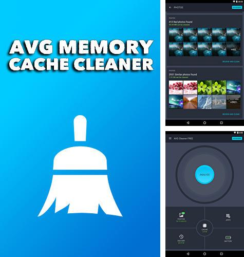 Besides MindMeister Android program you can download AVG memory cache cleaner for Android phone or tablet for free.