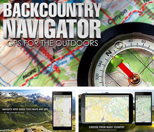 Besides Genius: Song and Lyrics Android program you can download Back country navigator for Android phone or tablet for free.