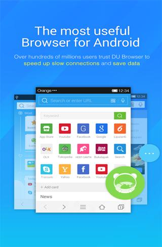 Download Browsers DU for Android for free. Apps for phones and tablets.