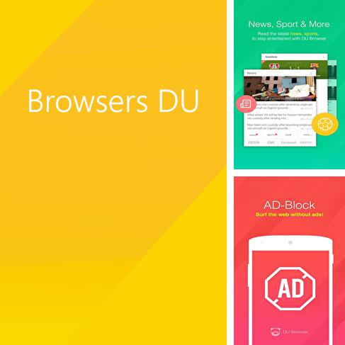 Besides Dr.Web Android program you can download Browsers DU for Android phone or tablet for free.