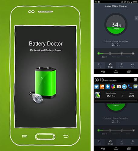 Besides Spectral Analyzer Android program you can download Battery doctor for Android phone or tablet for free.