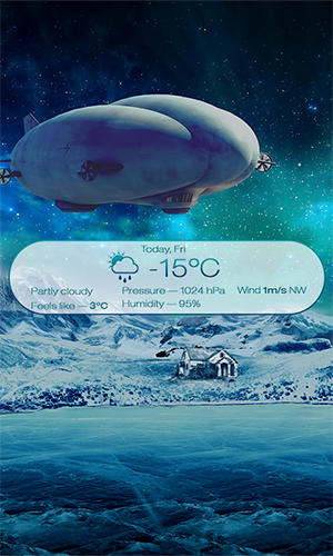 Beautiful seasons weather app for Android, download programs for phones and tablets for free.
