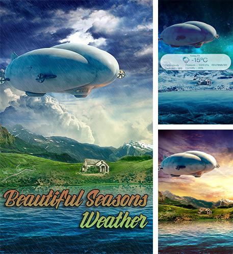 Descargar gratis Beautiful seasons weather para Android. Apps para teléfonos y tabletas.