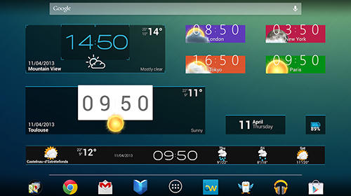 Download Beautiful widgets for Android for free. Apps for phones and tablets.