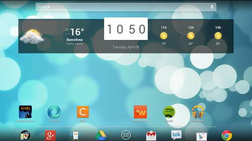 Beautiful widgets app for Android, download programs for phones and tablets for free.