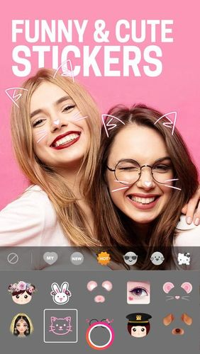 Скріншот програми BeautyPlus - Easy photo editor & Selfie camera на Андроїд телефон або планшет.