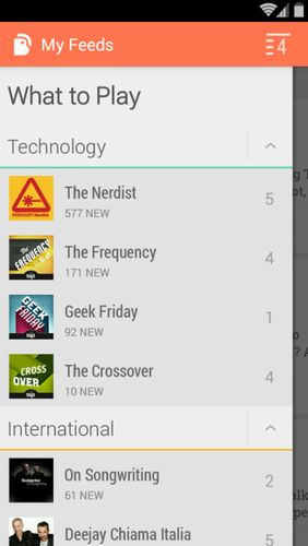 Screenshots des Programms YouTube Gaming für Android-Smartphones oder Tablets.