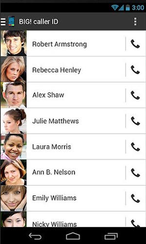 Big caller ID app for Android, download programs for phones and tablets for free.