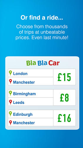Download BlaBlaCar for Android for free. Apps for phones and tablets.