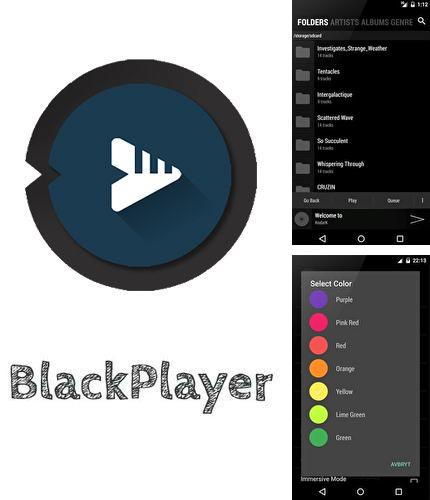 Besides Kinopoisk Android program you can download BlackPlayer music player for Android phone or tablet for free.