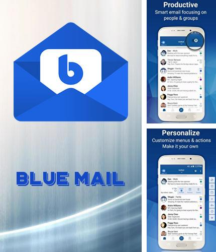 Besides LOCKit - App lock, photos vault, fingerprint lock Android program you can download Blue mail: Email for Android phone or tablet for free.