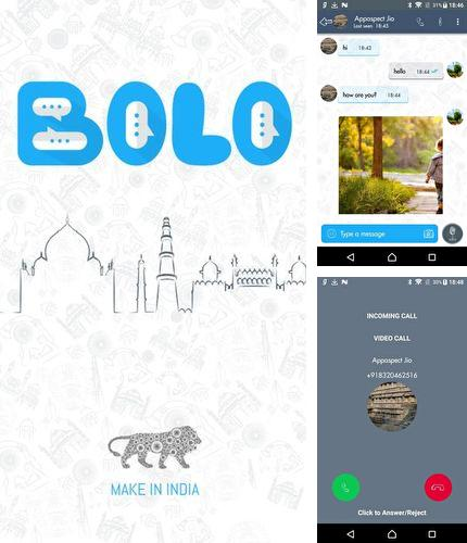Besides Ecosia - Trees & privacy Android program you can download Bolo chat for Android phone or tablet for free.