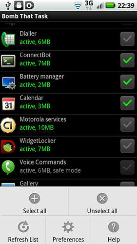 Advanced Task Manager app for Android, download programs for phones and tablets for free.