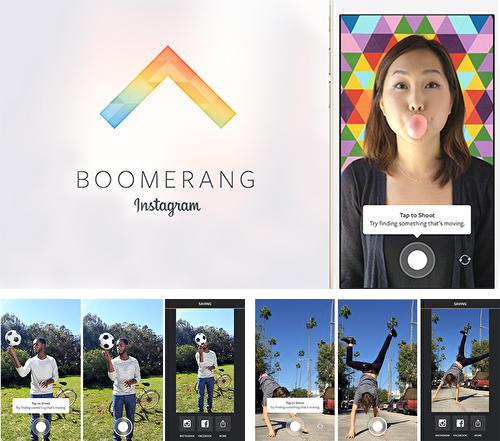 Besides ACR: Call recorder Android program you can download Boomerang Instagram for Android phone or tablet for free.