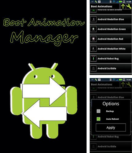 Descargar gratis Boot animation manager para Android. Apps para teléfonos y tabletas.