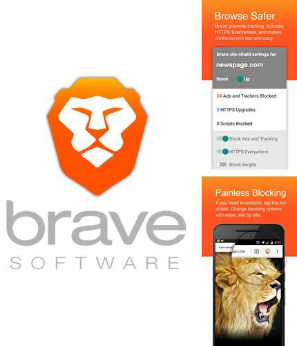 Besides Gesture control - Next level navigation Android program you can download Brave browser: Fast AdBlocker for Android phone or tablet for free.
