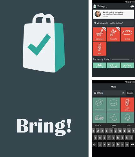 Download Bring! Grocery shopping list for Android phones and tablets.