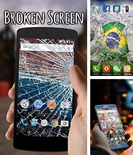 Besides Snap Me Up: Selfie Alarm Clock Android program you can download Broken screen for Android phone or tablet for free.